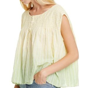Free People | a little bit of something ombre top